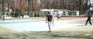 Чиновники міськспорткомітету Ладижина взяли участь у тенісному турнірі у Вінниці
