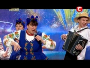 """Україна має талант-5. Наталя Фаліон і її """"Лісапетний батальйон"""""""