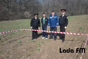 Поблизу Ладижина виявили мінометну міну