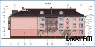 """""""Доступне житло"""" у Ладижині: уже зведено перший поверх"""
