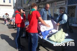 Ладижинці на благодійному ярмарку зібрали кошти для придбання «буржуйок» воякам АТО