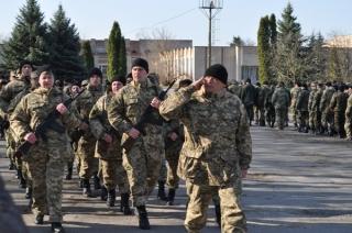 У військовій частині Гайсина вже складають присягу