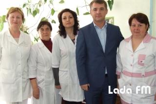 У фізкабінеті міської лікарні в Ладижині замінили все медобладнання