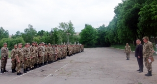 З нагоди роковини створення 9 мотопіхотного батальйону у Гайсині пройшли урочистості