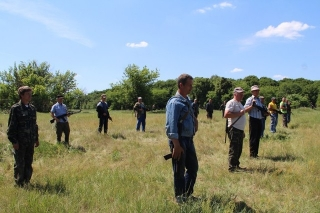 Очільник Вінницької  ОДА відвідав Гайсинський полігон, проінспектувавши  хід командно-штабних навчань