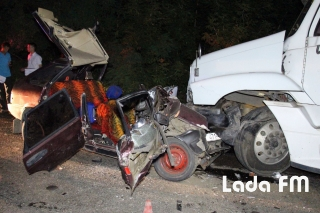 Внаслідок страшної ДТП поблизу Ладижина загинуло чотири особи