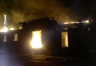 У Степашках Гайсинського району згорів храм