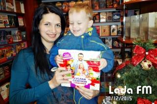 Переможці новорічного фотоконкурсу на Lada.FM отримали свої подарунки