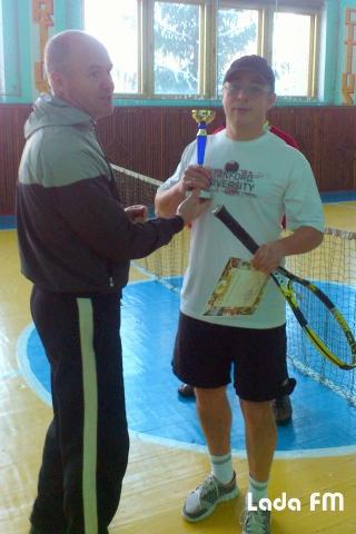 У Ладижині відбувся Різдвяний турнір з тенісу