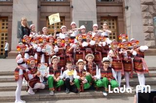 Дитячий ансамбль «Радість» з Ладижина здобув першість у конкурсі у Києві