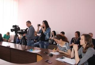 У Вінниці пройшла прес-конференція  щодо фінансової підтримки бізнес-переселенців
