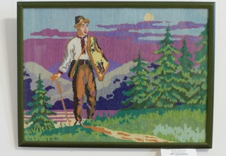 До 31 липня у Вінницькому обласному краєзнавчому музеї можна переглянути  вишиті картини Любові Король