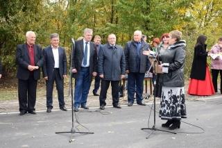 """Біля Ладижина урочисто відкрили відремонтовану дорогу """"Куна-Кунка"""""""