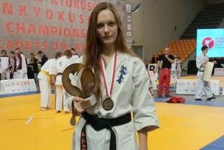 Каратистка із Ладижина успішно виступила на чемпіонаті Європи у польському місті Кельце (Оновлено)