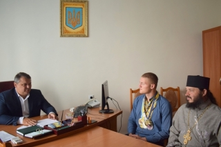При православному храмі у Тростянецькому районі діє школа рукопашного бою