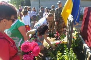 На Бершадщині вшанували пам'ять Костянтина Могилка