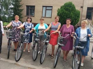 На Вінниччині соціальні працівники до підопічних поїдуть на велосипедах