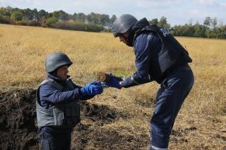 На Вінниччині артснаряди знаходять і знищують сотнями