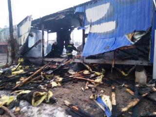 У Ладижині згорів будівельний вагончик біля споруди недобудованої церкви