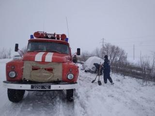 """Ладижинські рятувальники звільнили зі снігового полону """"француза"""""""