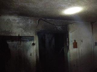 Біля Ладижина рятувальники винесли з охопленого полум'ям будинку чоловіка