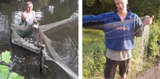 Біля Бершаді рибалка незаконно виловив шість сотень карасиків