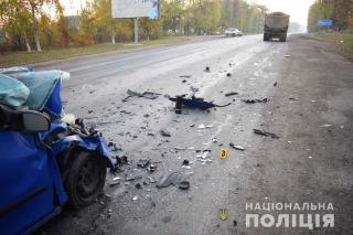 На виїзді із Гайсина в ДТП загинув водій автівки