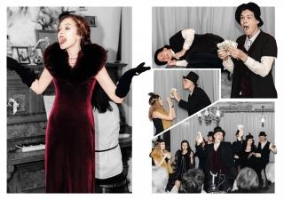 У Ладижині самодіяльний театр в арт-кав'ярні грає п'єсу за мотивами оповідань О.Генрі