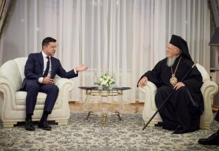 Вселенський Патріарх сказав, що молиться за мир в Україні