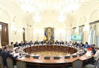 Чергове засідання РНБО: що відомо про прийняті рішення