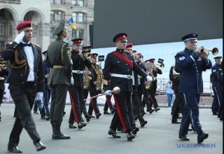 На Хрещатику пройшла генеральна репетиція параду до Дня Незалежності
