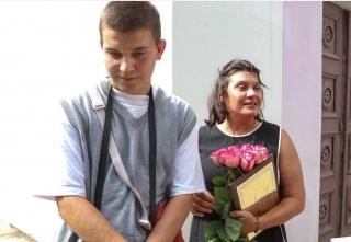 У Вінниці сертифікат на квартиру вручили вдові загиблого захисника України Вікторії Савич