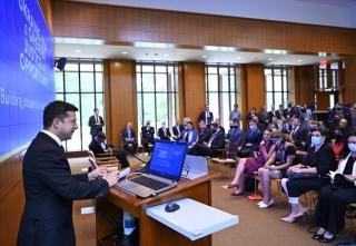 Президент Зеленський презентував у США план трансформації України